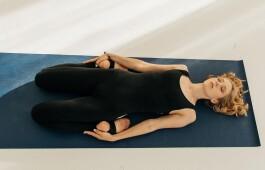 Асаны лежа — минимум усилий, максимум пользы