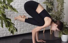 Поза журавля в йоге: особенности и техника выполнения