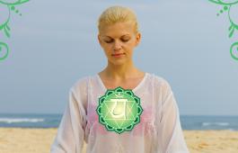 Медитация для активации четвертой чакры