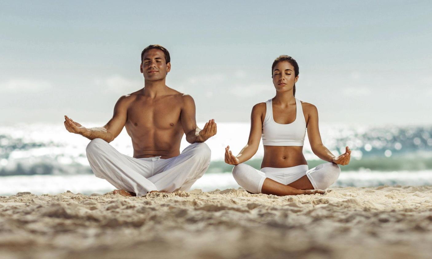 Медитация под открытым небом